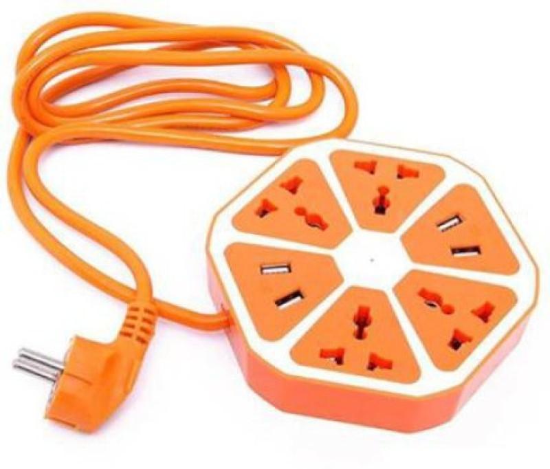 Purosun hexagon socket extension 4  Socket Extension Boards(Orange)