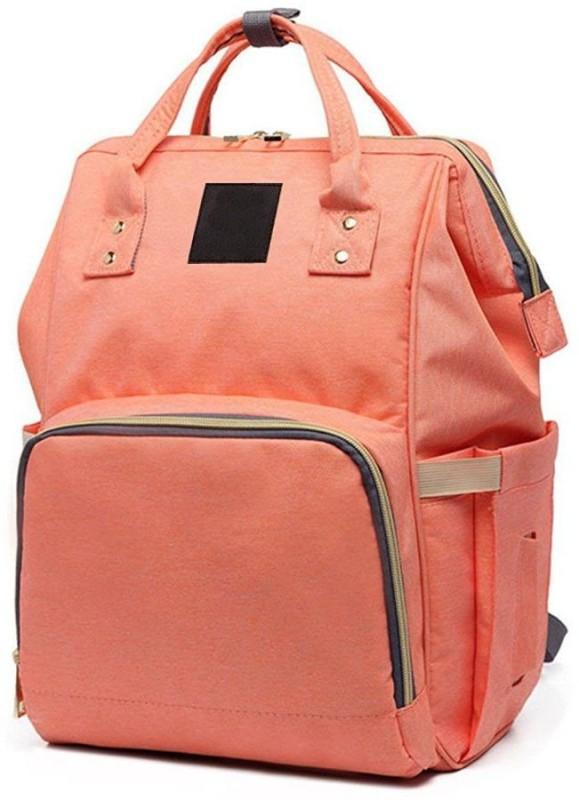 Baby Bucket Stylish Waterproof Diaper Bag(Orange)