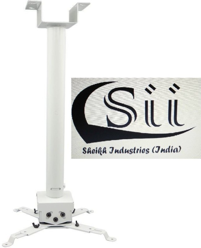 Sii 3 Feet Ceiling mount round Projector Stand(Maximum Load Capacity 20 kg)