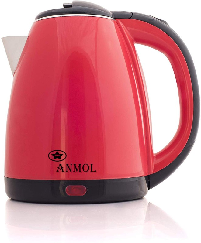 Play Run Anmol Electric Kettle Red Electric Kettle(1.8 L, Red, Black)