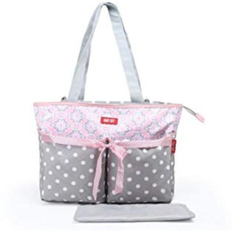 Baby Bucket Soft Stylish bag Diaper Bag(Multicolor)