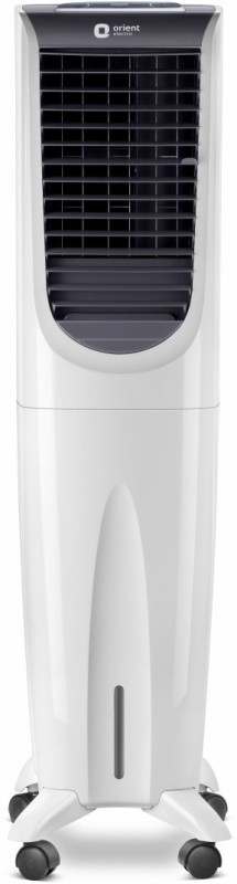 Orient Electric 40 L Room/Personal Air Cooler(White, Grey, Ultimo Tower CT4002HR with Remote)