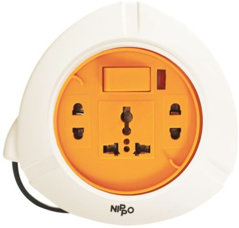 Nippo 2 PIN FLEX BOX 3  Socket Extension Boards(White)