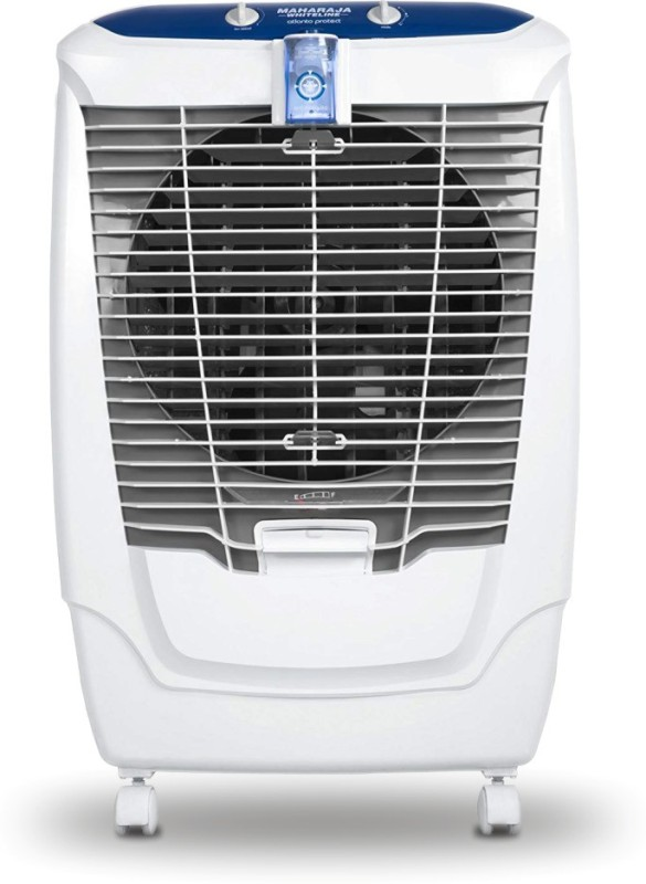 Maharaja Whiteline 50 L Desert Air Cooler(White and Blue, Atlanto Protect with Anti Mosquito technology)
