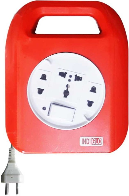 INDIGLO FLEX BOX DURO 3  Socket Extension Boards(Red, White)
