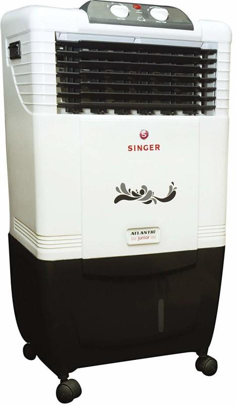 Singer 50 L Room/Personal Air Cooler(White, ATLANTIC_JUNIOR)