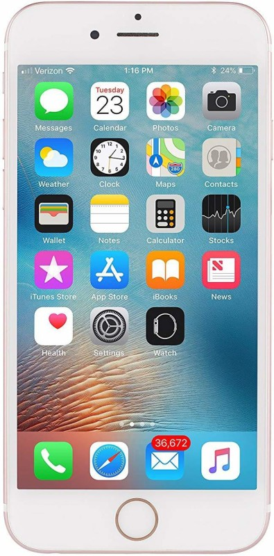 (Refurbished) APPLE iphone 7 (Gold, 128 GB)