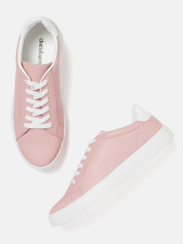 Dressberry Sneakers For Women(Pink)