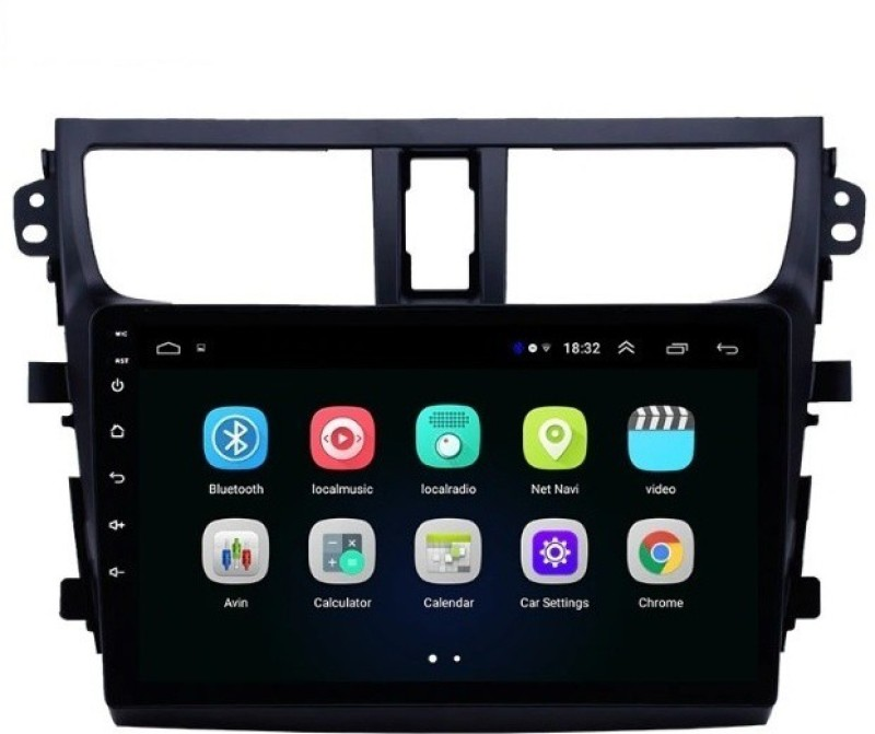 DealT Maruti Celerio GPS Android with 2 GB +16 GB Internal Memory) Car Stereo(Double Din)