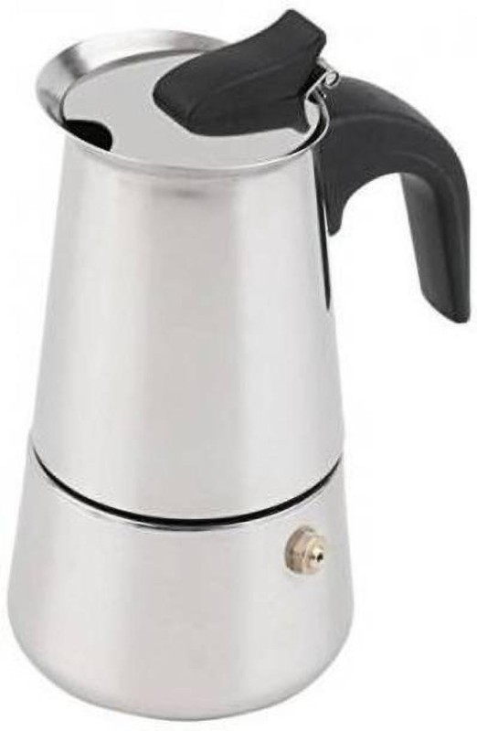 Sun Collections sunremedies_coffeemakers_18 5 Cups Coffee Maker(Silver)