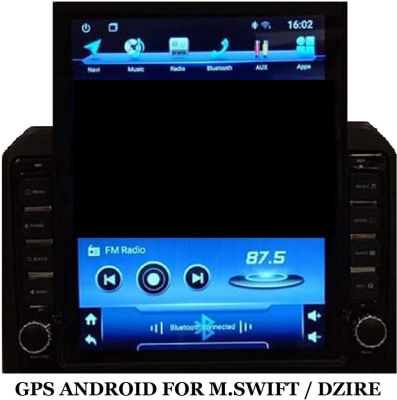 """DealT 12"""" GPS Android for Maruti Swift Quad Core Car Radio Central Multimedia System for GPS Navigation Car Stereo(Double Din)"""
