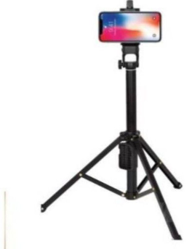 GUGGU YOG_696O_mi VCT-1688 Tripod smart phones compatiable Portable tripod with bluetooth remote  360 degree tripod   Foldable triopod   Camera stand   Mobile Tripod   Camcorder tripod   Camera mount   Extendable tripod  Three-Dimensional Head & Quick Release Plate   Compatible with android & IOS sm