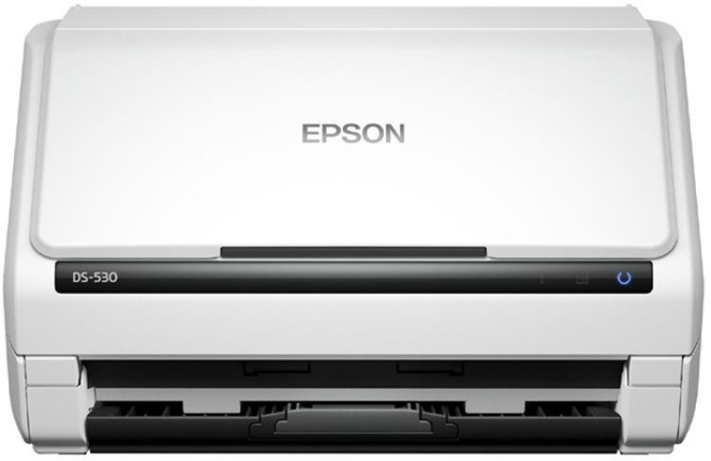 Epson Workforce DS -530 Document Scanner(White)