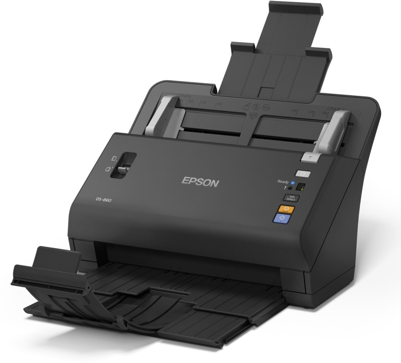 Epson Workforce DS-860 Duplex Sheet-fed Document Scanner(Black)