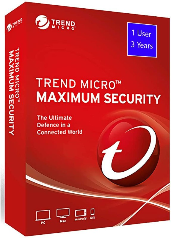 Trend Micro Total Security 1 User 3 Years(Voucher)