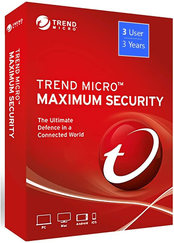 Trend Micro Total Security 3 User 3 Years(Voucher)