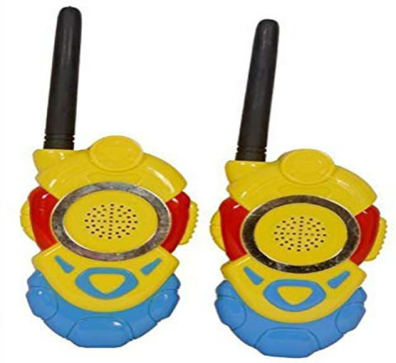 SPKART Minion Walkie Talkie Set With Batteries 2 PCS Set Portable Electronic Radio With Clear Sound
