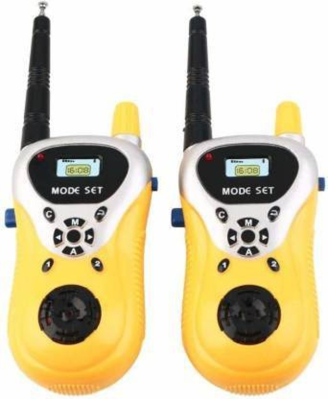 kidsmile Battery Operated Walkie Talkie Set for Kids Phone Toy