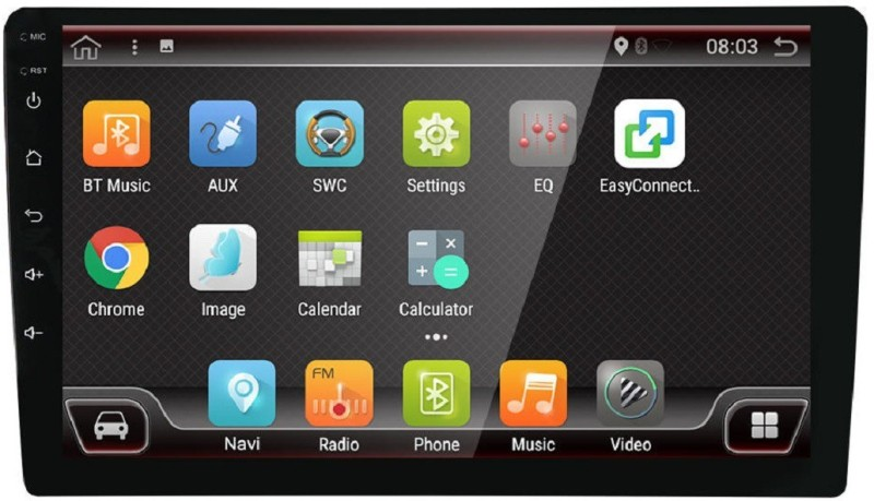 DealT 9 INCH Gps Android with 2GB RAM MULTIMEDIA PLAYER (UNIVERSAL FOR ALL CARS) Car Stereo(Double Din)