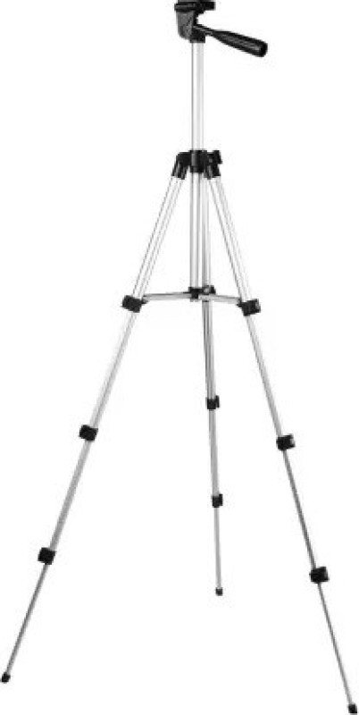 Wanzhow NEW ARRIVAL 3110 Tripod Traveler tripod with Pan head design best choices for outdoor photograph activities, Tripod Stand Aluminum Alloy Tripod Portable Lightweight Travel 3-sections Stand Phone Holder Flexible Standing Tripod head For Universal Flexible Tripod, Tripod Kit Tripod, Tripod Kit