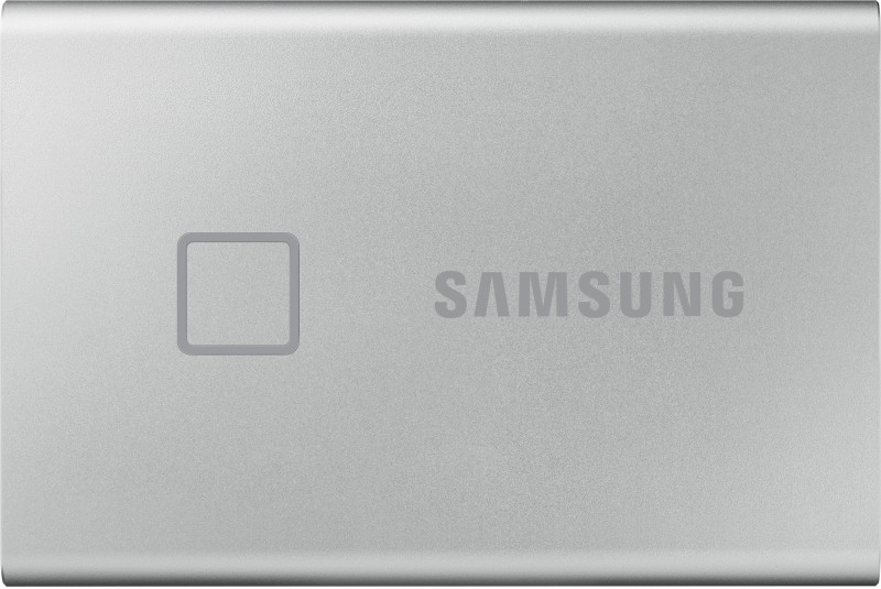 Samsung T7 Touch 500 GB External Solid State Drive(Silver)