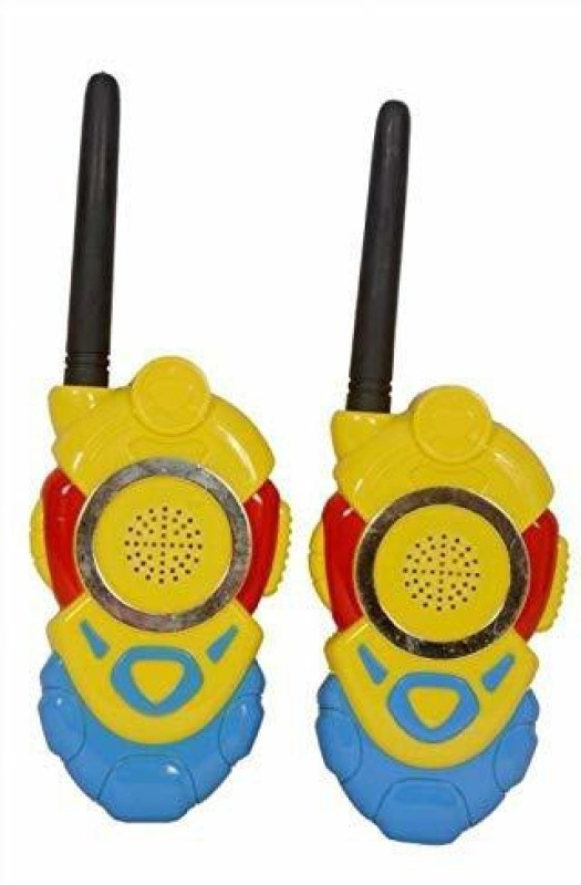 aavkar creation Minion Walkie Talkie Set With Batteries 2 PCS Set Portable Electronic Radio With Clear Sound