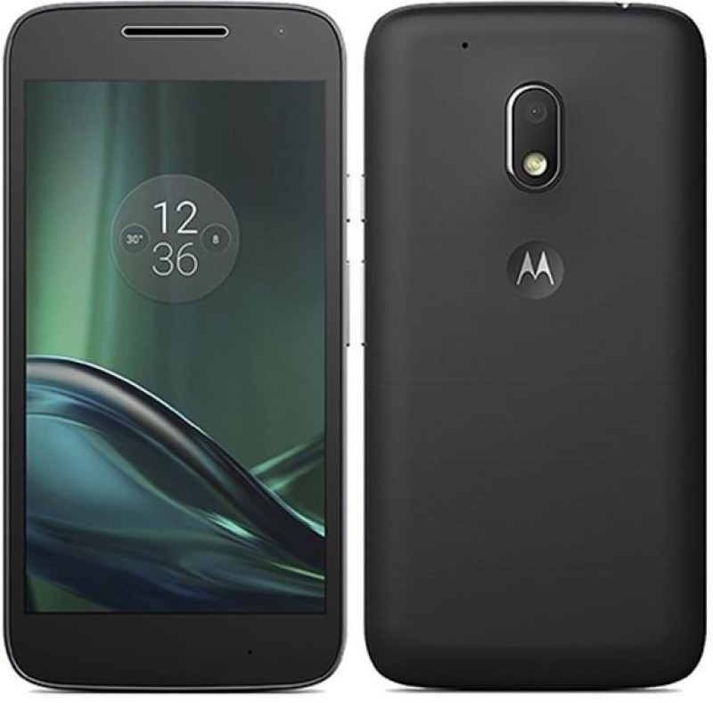 (Refurbished) MOTOROLA Moto G4 Play (Black, 16 GB)(2 GB RAM)