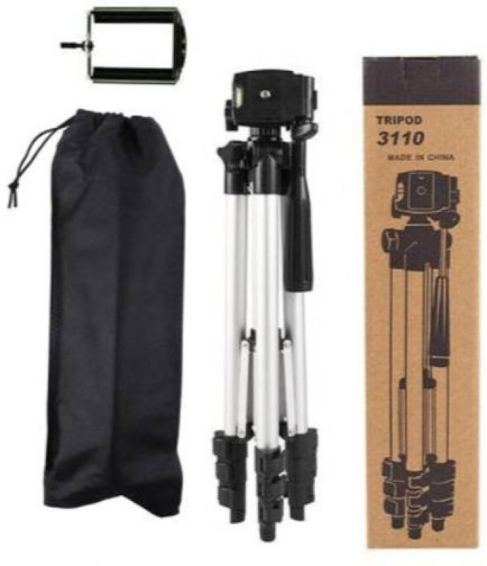 GUGGU NKT_648L_mi 3110 Tripod support smart phones compatiable Portable tripod ||360 degree tripod|| Foldable triopod|| Camera stand|| Mobile Tripod|| Camcorder tripod|| Camera mount|| Extendable tripod||Three-Dimensional Head & Quick Release Plate|| Compatible with android & IOS smart phone Tripod(
