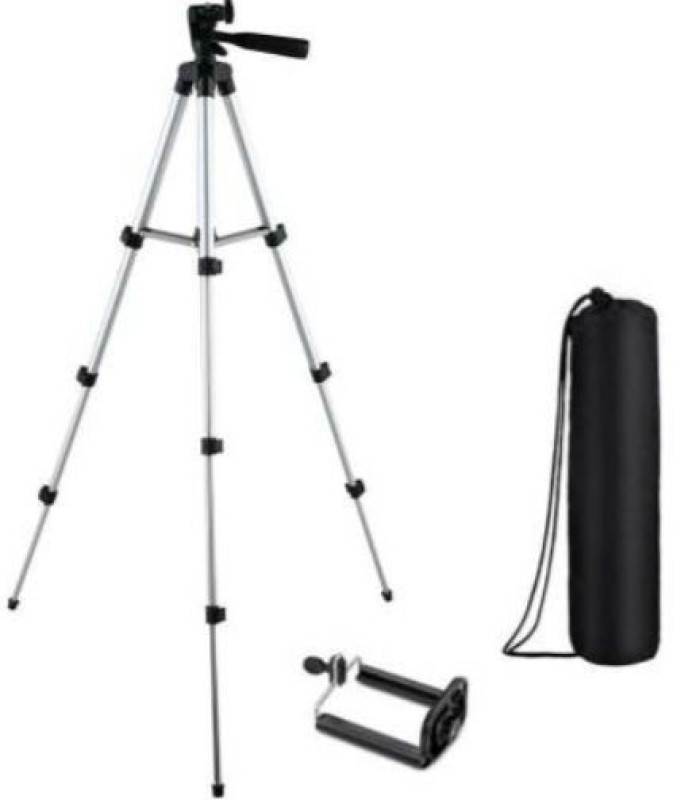 GUGGU BWH_612F_mi 3110 Tripod support smart phones compatiable Portable tripod   360 degree tripod   Foldable triopod   Camera stand   Mobile Tripod   Camcorder tripod   Camera mount   Extendable tripod  Three-Dimensional Head & Quick Release Plate   Compatible with android & IOS smart phone Tripod(
