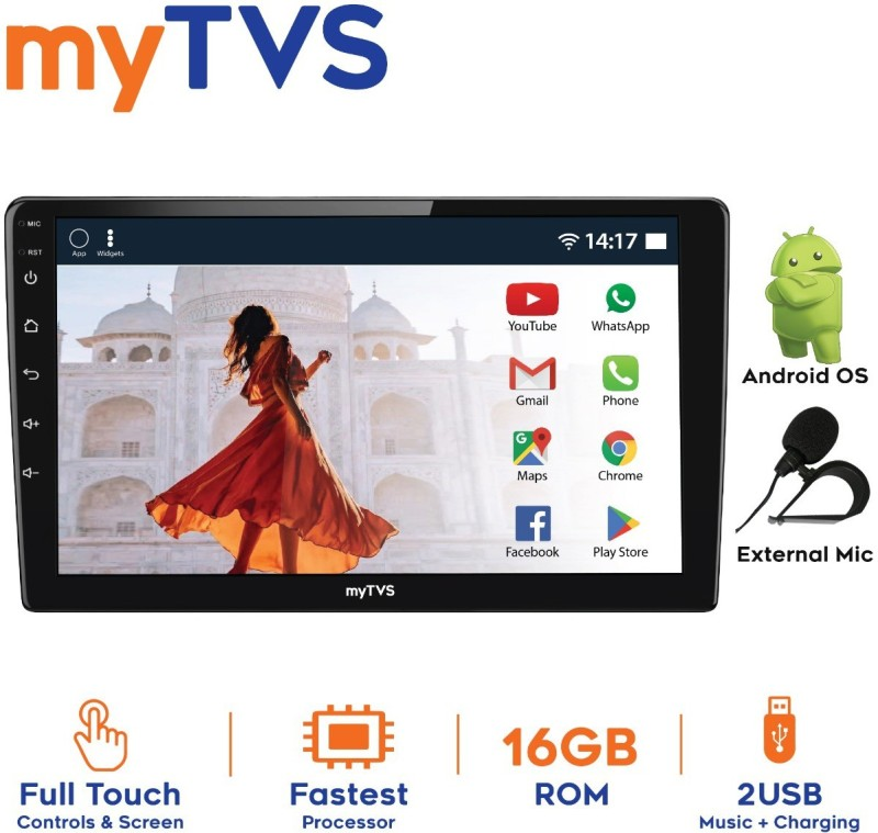 myTVS 7 Inch Full Touch Double Din Audio/Video Android Car Media Player Car Stereo(Double Din)
