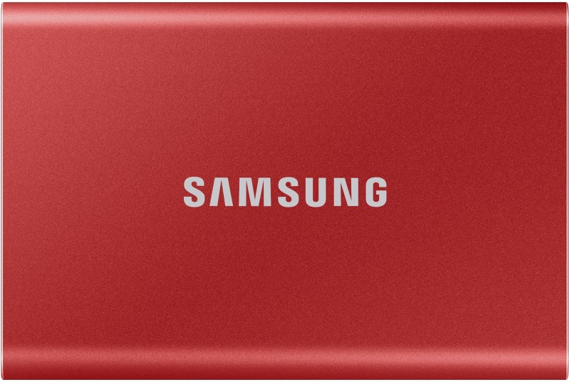 Samsung T7 1 TB External Solid State Drive(Red)