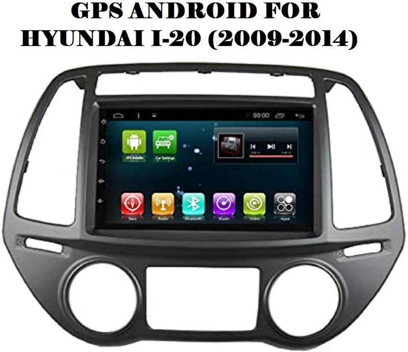 "DealT 9"" Android Stereo Hyundai I20 Full HD Display with 2GB RAM GPS/Wi-Fi/Navigation/Mirror Link Car Stereo(Double Din)"