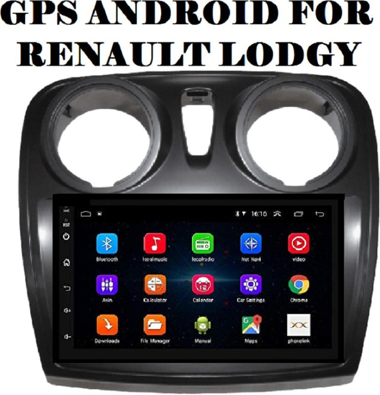 "DealT 9"" Android Stereo Renault Lodgy Full HD Display with GPS/Wi-Fi/Navigation/Mirror Link Car Stereo(Double Din)"