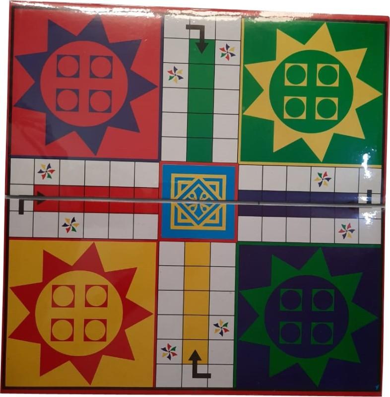 AARDEEP MAGNET LUDO SNAKE LEADERS BOARD GAME Board Game Accessories Board Game