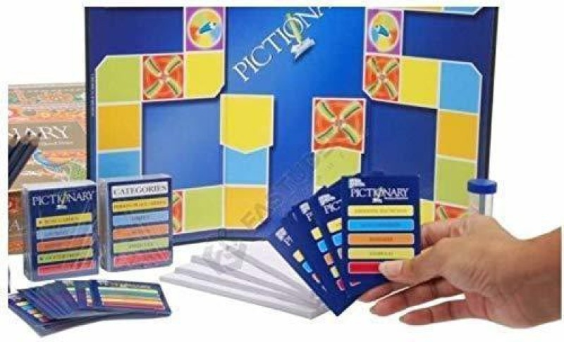 radhey enterprise ictionary-The Game of Quick draw Educational Board Games Board Game Board Game Accessories Board Game
