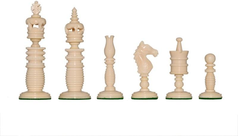 Ganesh Chess 312 Made in Camel Bone Board Game Accessories Board Game