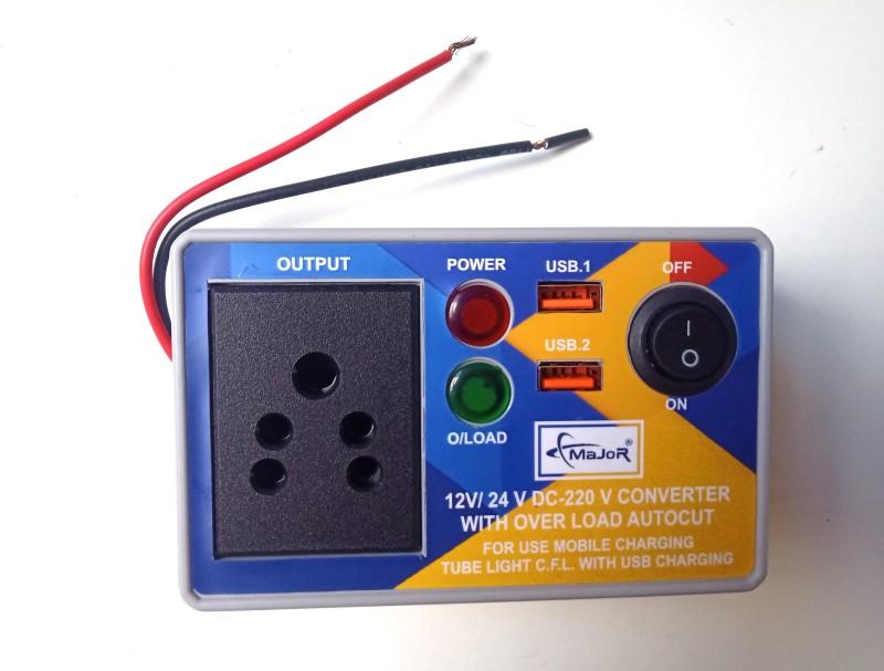 Major 12//24 VOLT WITH 2 USB Car Inverter