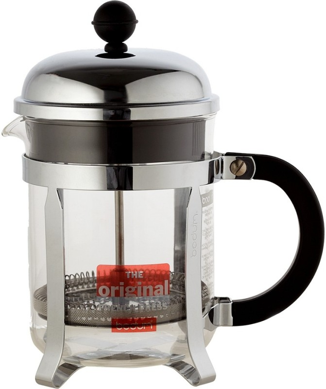 Starbucks X Bodum Stainless Steel Coffee Press 4 cup (Coffee Brewing Equipment) 4 Cups Coffee Maker(Transparent)