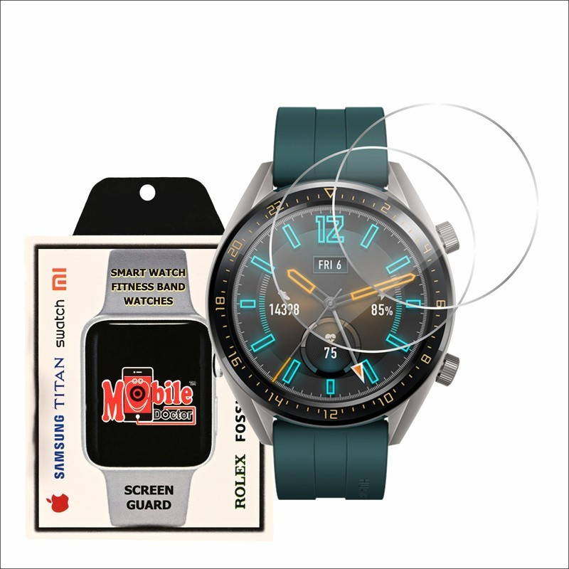 MOBILE DOCTOR Screen Guard for HUWAEI WATCH GT 46 MM(Pack of 3)
