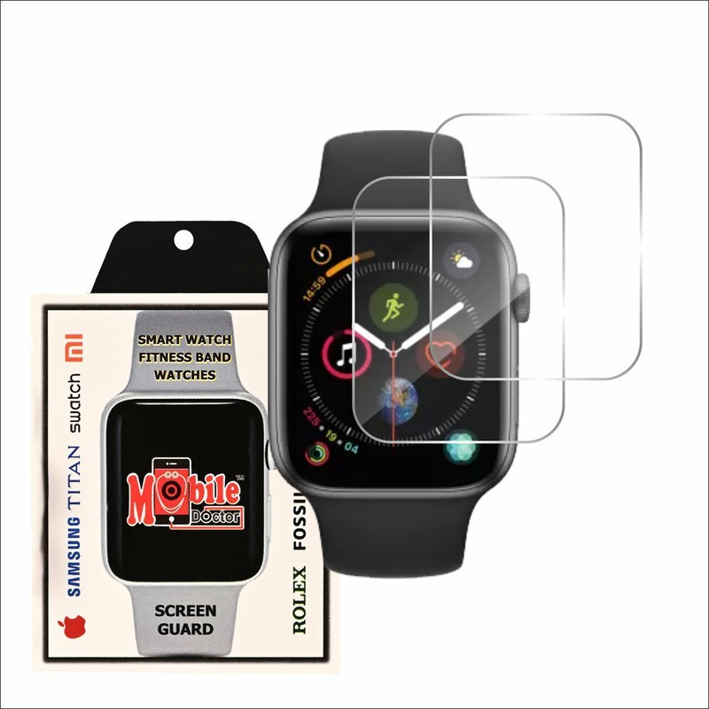 MOBILE DOCTOR Screen Guard for APPLE WATCH 44MM SERIES 4 5 SE(Pack of 3)