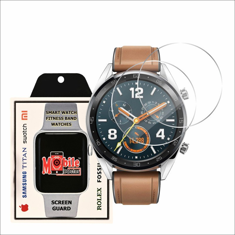 MOBILE DOCTOR Screen Guard for HUWAEI WATCH GT CLASSIC(Pack of 2)