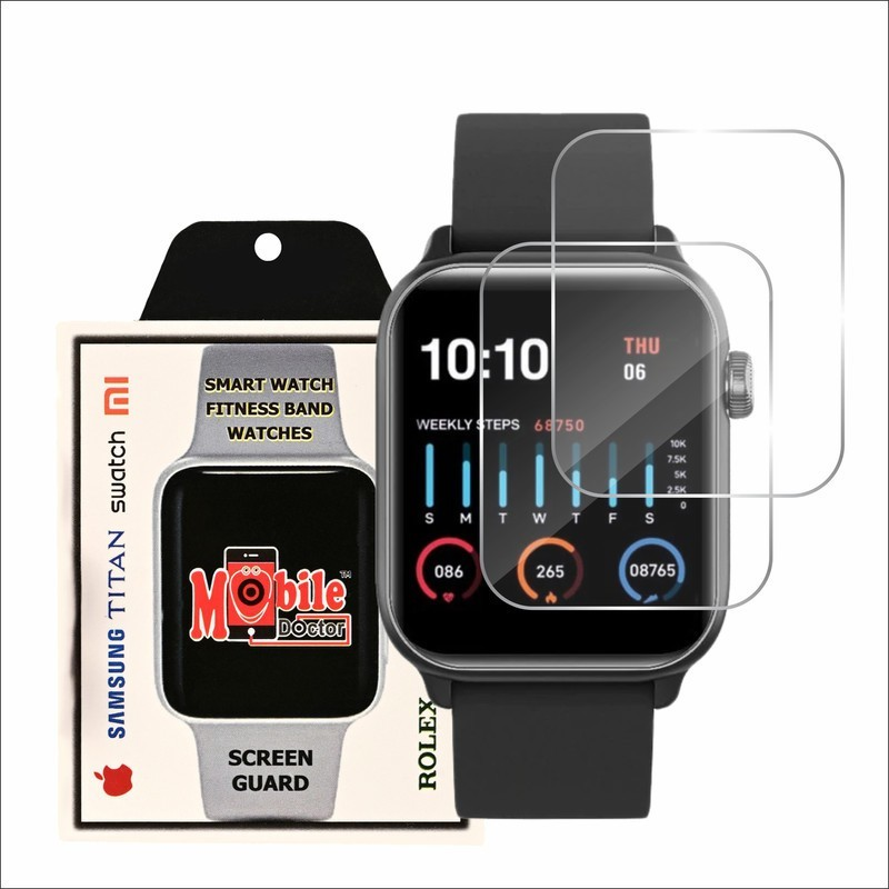 MOBILE DOCTOR Screen Guard for GIONEE WATCH 5(Pack of 3)
