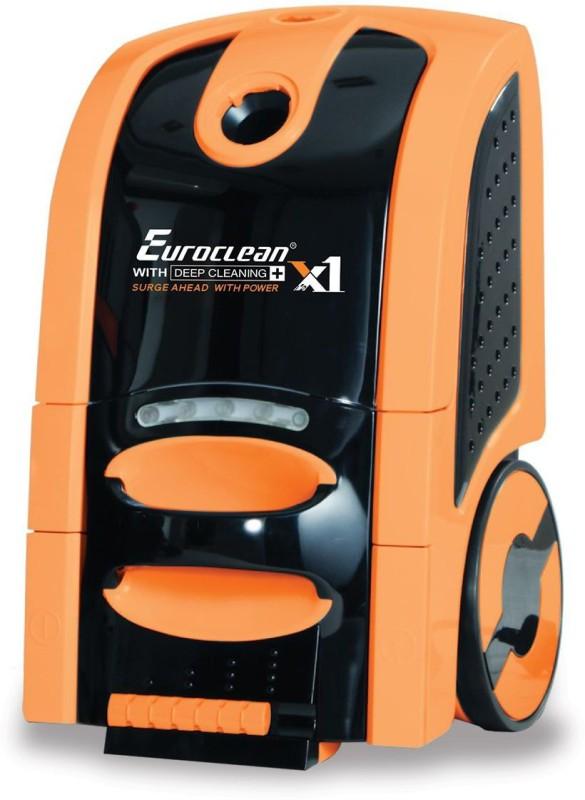 EUREKA FORBES Euroclean X-1 Vaccum Cleaner Home & Car Washer(Orange, Black)