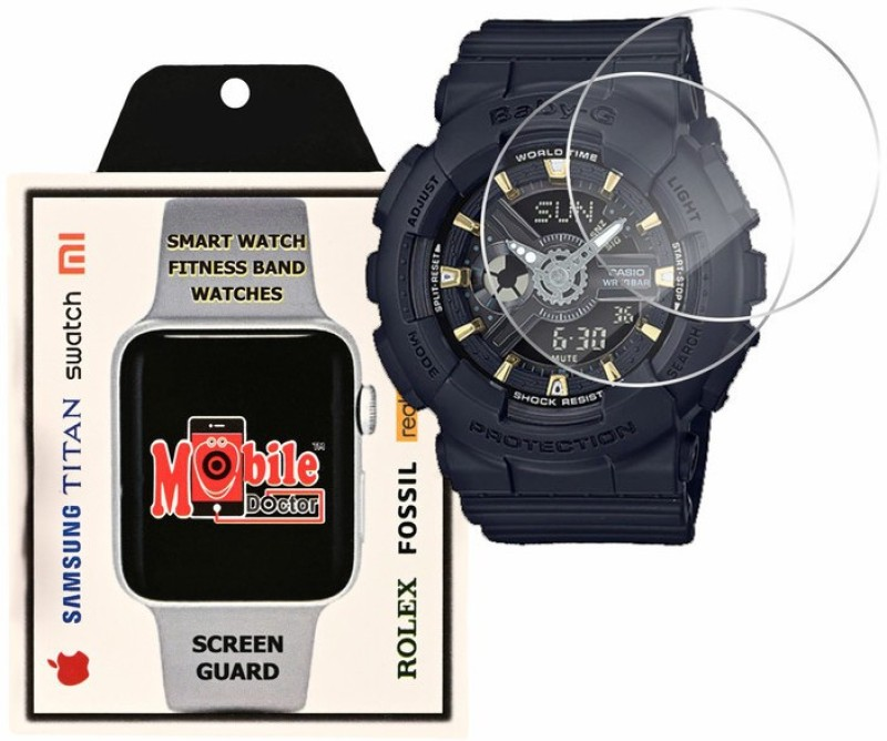 MOBILE DOCTOR Screen Guard for Casio | Baby-G | G-Shock Tandem Series | BA-110GA-1A(Pack of 3)