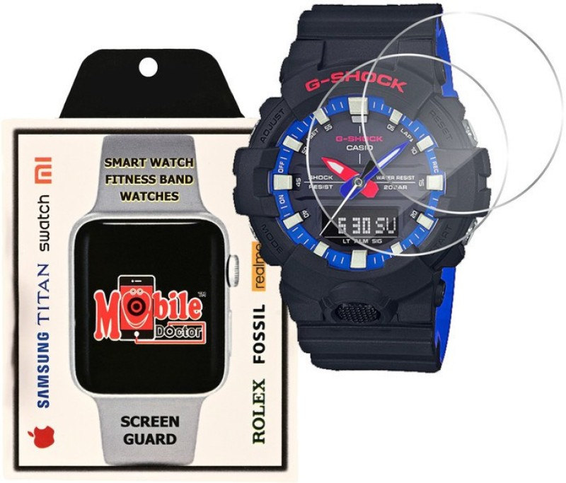 MOBILE DOCTOR Screen Guard for Casio | G-Shock | Special Color Model | GA-800LT-1A(Pack of 3)