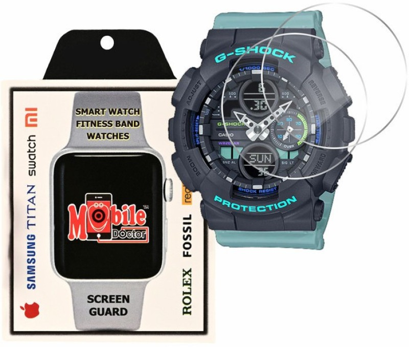 MOBILE DOCTOR Screen Guard for Casio | G-Shock | S Series | GMA-S140-2A(Pack of 3)