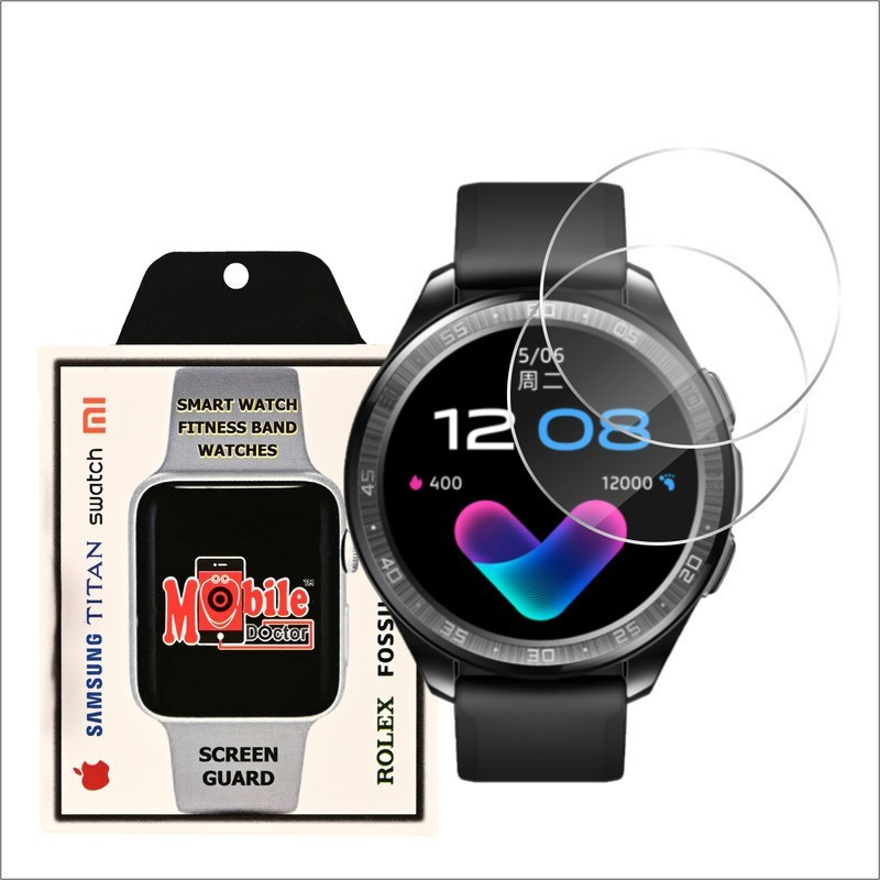 MOBILE DOCTOR Screen Guard for VIVO WATCH 46 MM(Pack of 3)