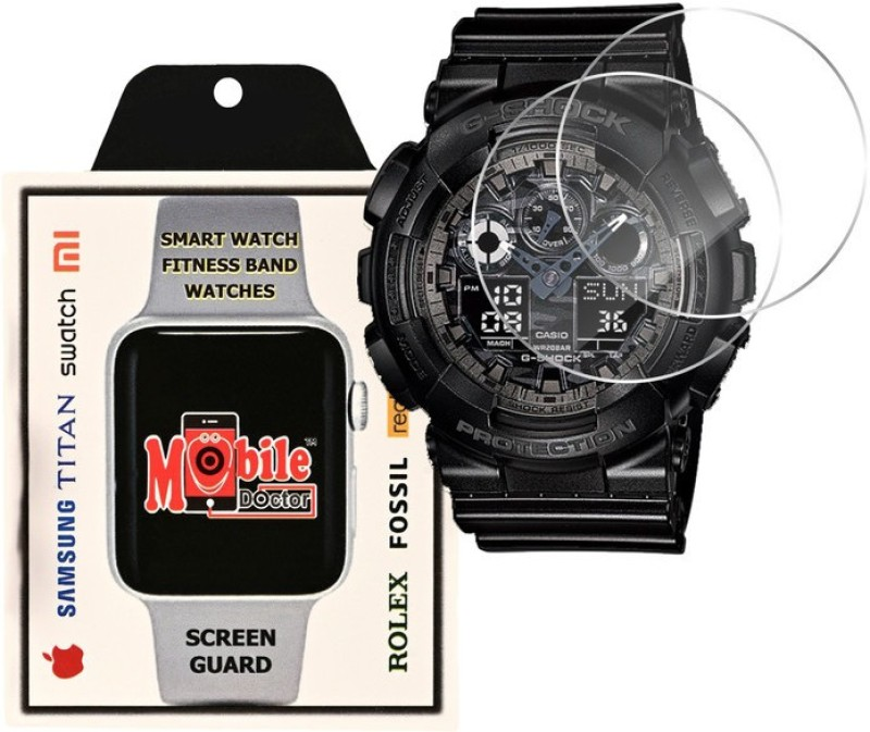 MOBILE DOCTOR Screen Guard for Casio | G-Shock | Special Color Model | GA-100CF-1A(Pack of 3)