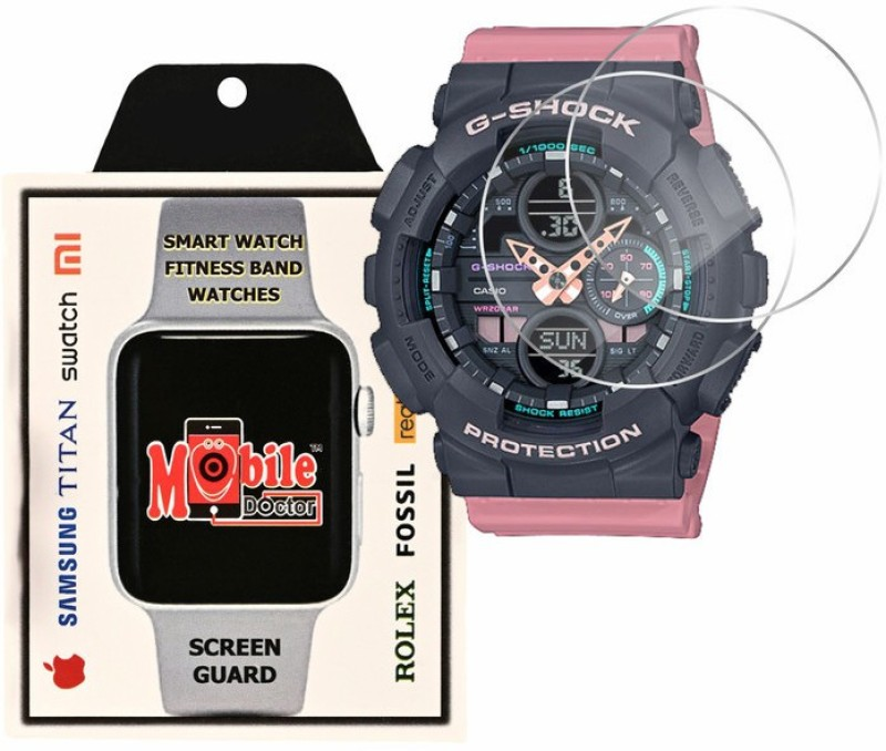 MOBILE DOCTOR Screen Guard for Casio | G-Shock | S Series | GMA-S140-4A(Pack of 3)