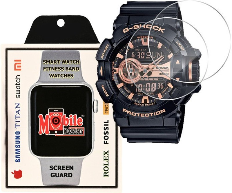 MOBILE DOCTOR Screen Guard for Casio | G-Shock | Special Color Model | GA-400GB-1A4(Pack of 3)